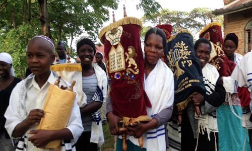 Image - Afro Jews with Torah