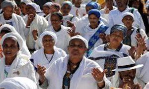 Image - Ethiopian women and man Israel