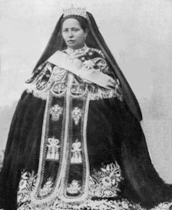 Image - Reine Zewditu avec couronne