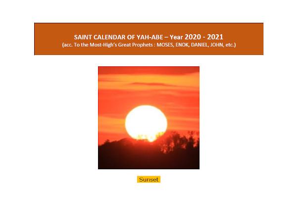 Image - Cover Calendar Kingdom 2020_2021