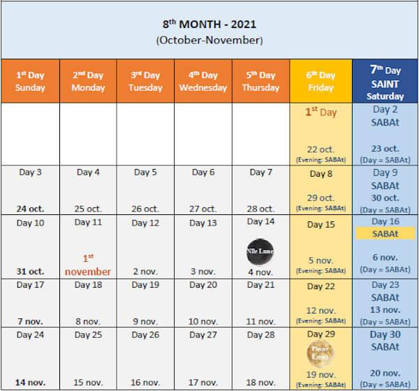 Image Calendar 2021-2022 Month 8